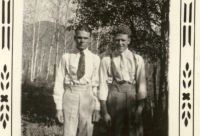 Going to a dance - Grandpa on right